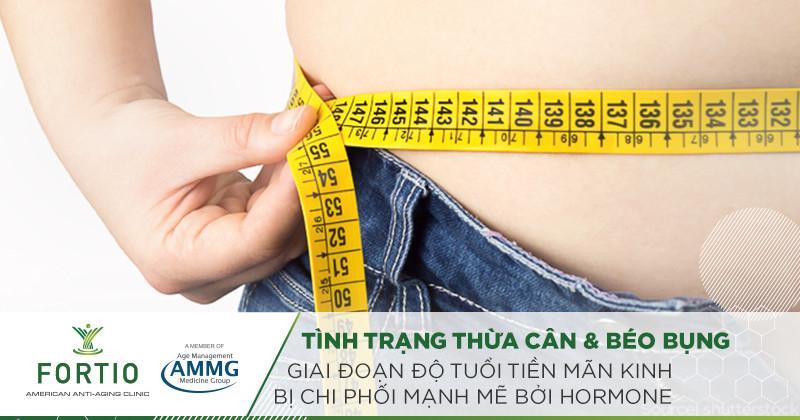 nguyên nhân gây béo phì do nội tiết