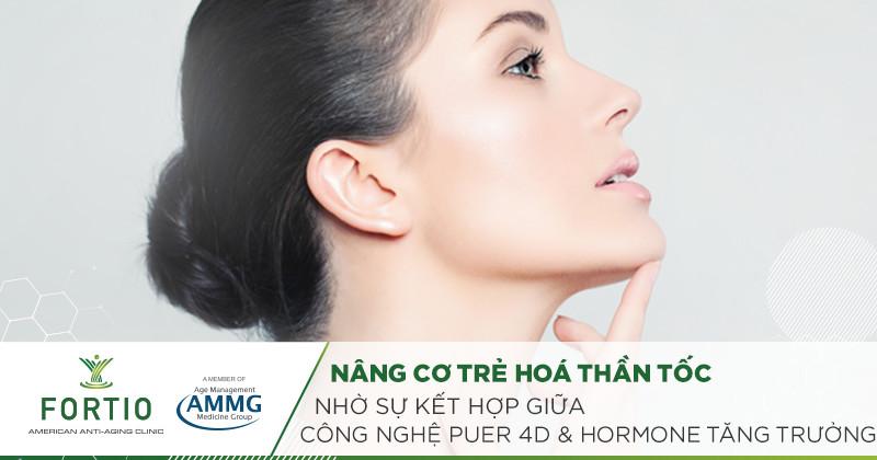 nâng cơ trẻ hoá da mặt