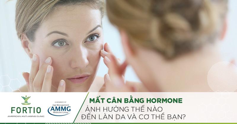 mất cân bằng hormone
